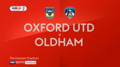 Oxford 0-0 Oldham
