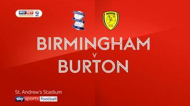 Birmingham 1-1 Burton
