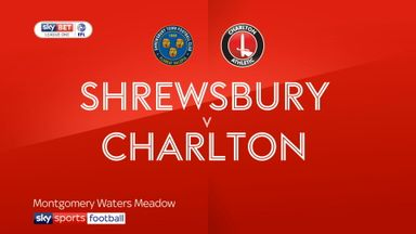 Shrewsbury 0-2 Charlton