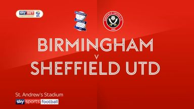 Birmingham 2-1 Sheffield United