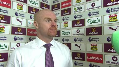 Dyche: Pope was 'outstanding'