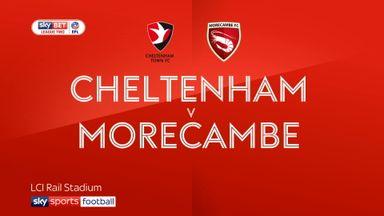 Cheltenham 3-0 Morecambe