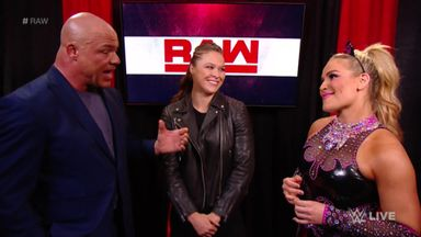 Ronda Rousey welcomes Natalya