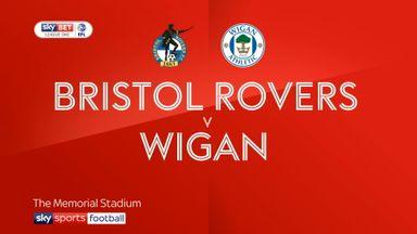 Bristol Rovers 1-1 Wigan