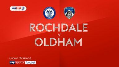 Rochdale 0-0 Oldham