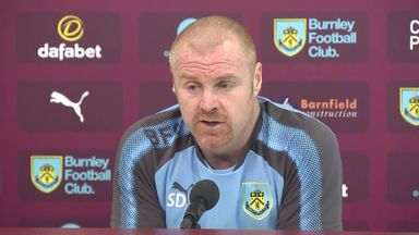 Dyche delighted with Burnley progress