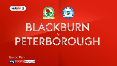 Blackburn 3-1 Peterborough
