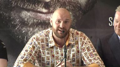 Fury: Wilder inspired my comeback