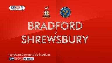 Bradford 0-0 Shrewsbury