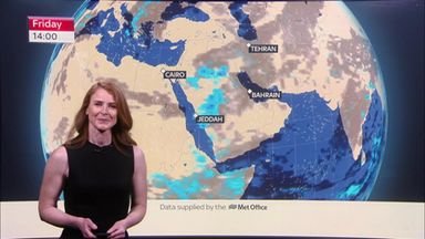 F1 Weekend Weather: Bahrain GP