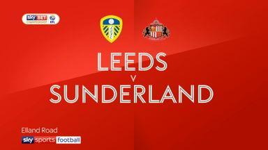 Leeds 1-1 Sunderland
