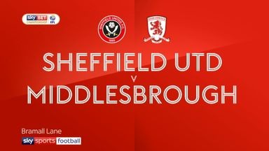 Sheff Utd 2-1 Middlesbrough