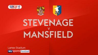 Stevenage 1-1 Mansfield