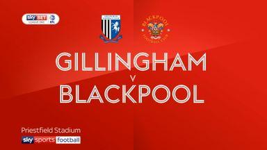 Gillingham 0-3 Blackpool