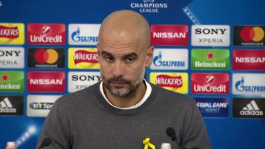 Pep reveals why he was sent off