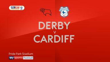 Derby 3-1 Cardiff