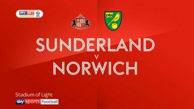 Sunderland 1-1 Norwich