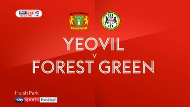 Yeovil 0-0 Forest Green