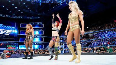 Asuka joins SmackDown