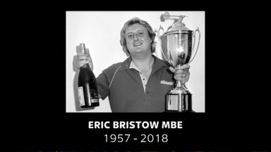 Darts' moving tribute to Bristow