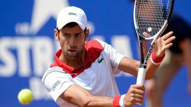 Djokovic v Klizan: Highlights