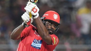 IPL: Kolkata v Kings XI highlights