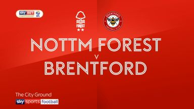 Nott'm Forest 0-1 Brentford
