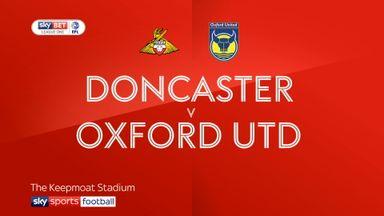 Doncaster 0-1 Oxford Utd