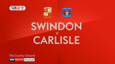 Swindon 0-0 Carlisle