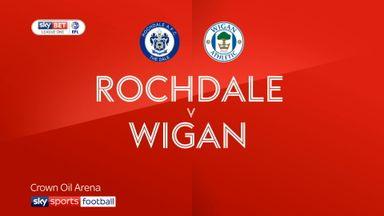 Rochdale 1-4 Wigan