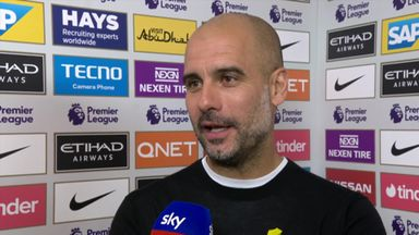 Pep delighted with five-star City