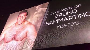 WWE honours Bruno Sammartino