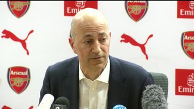 Gazidis: We must be bold in manager search