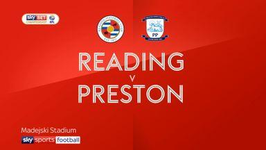 Reading 1-0 Preston