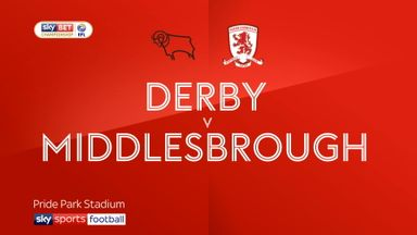 Derby 1-2 Middlesbrough