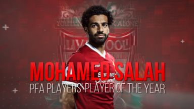 Mo Salah: PFA Players' Player of the Season
