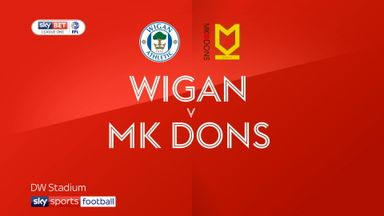 Wigan 5-1 MK Dons
