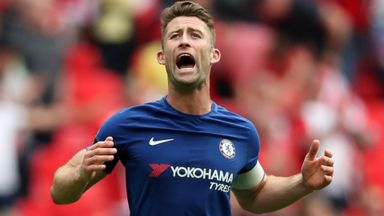 Cahill downbeat on top four