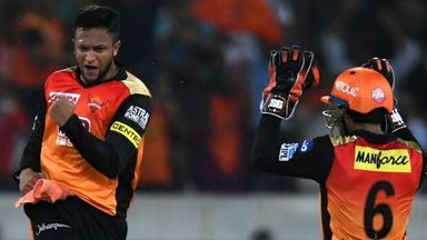 IPL: Sunrisers v Kings XI highlights