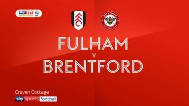Fulham 1-1 Brentford