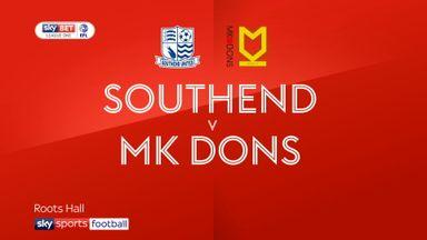 Southend 4-0 MK Dons