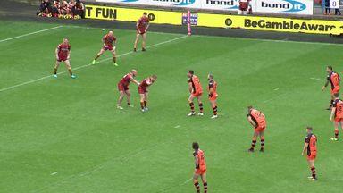 Huddersfield 28-40 Castleford