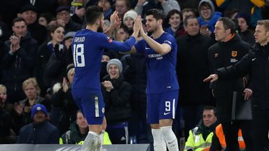 Conte very pleased with forward duo