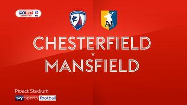 Chesterfield 0-1 Mansfield