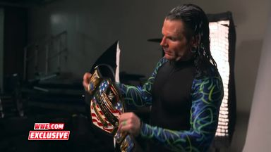 Jeff Hardy's US Title photoshoot
