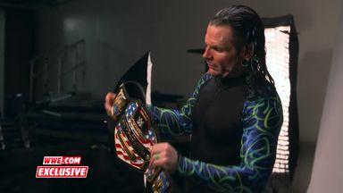 Jeff Hardy's US Title photoshoot