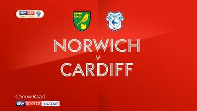 Norwich 0-2 Cardiff
