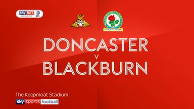 Doncaster 0-1 Blackburn