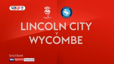 Lincoln 0-0 Wycombe