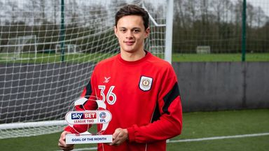 Ng wins L2 Goal of the Month
